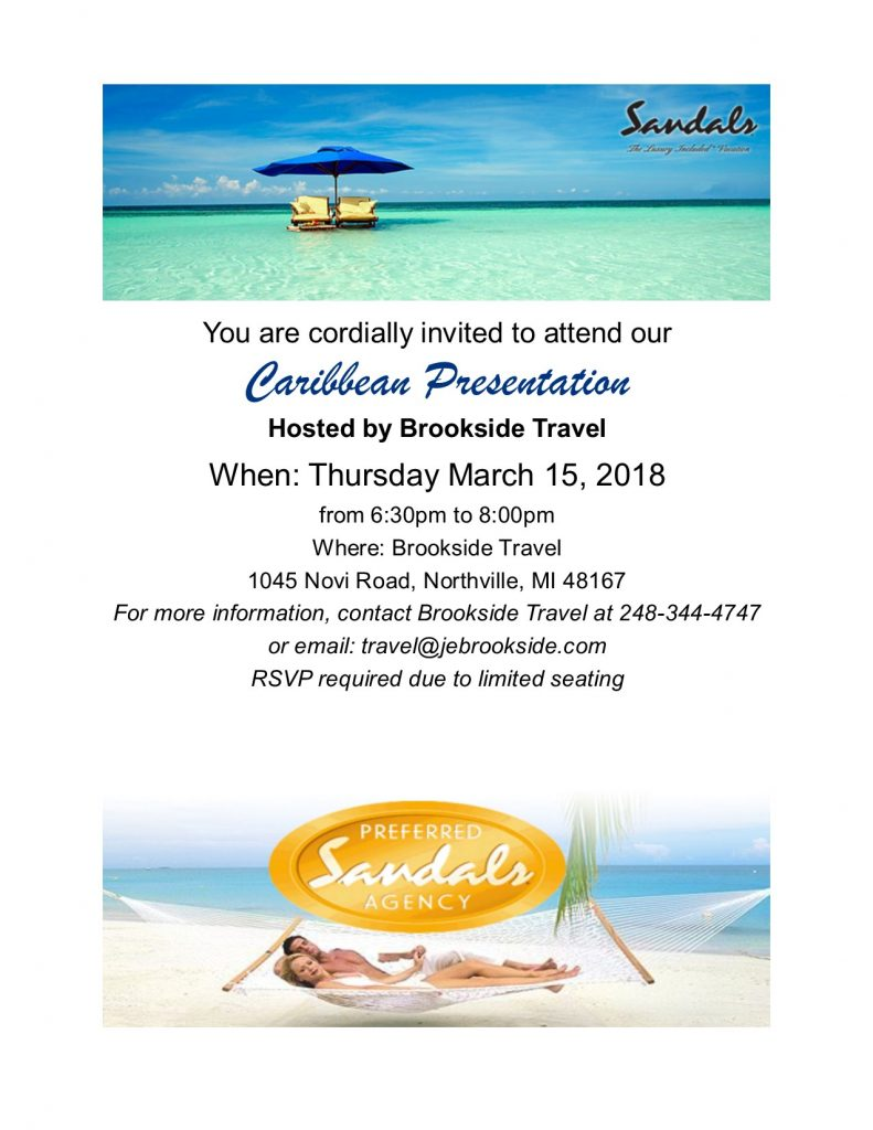 Sandals Night March 2018