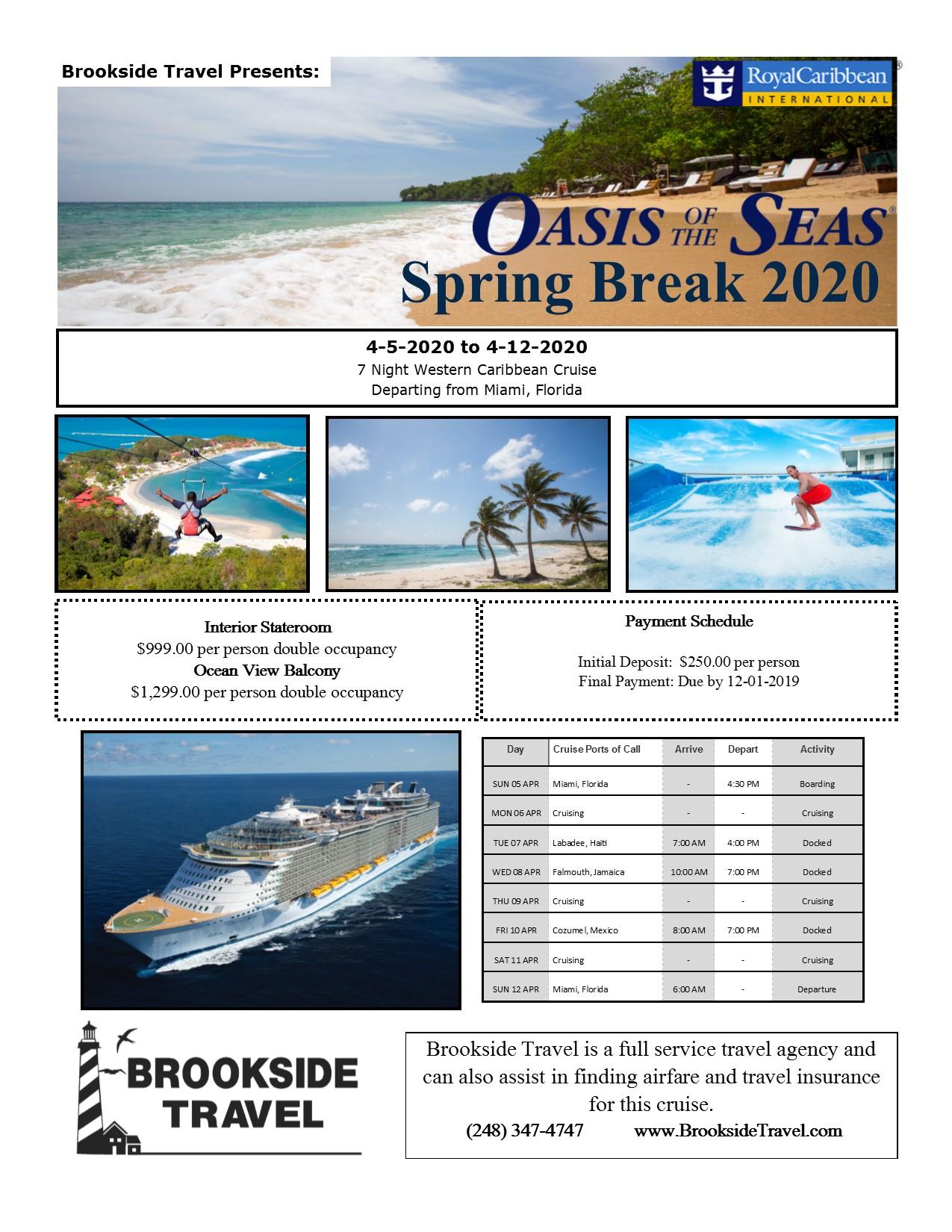 Spring Break Oasis 2020