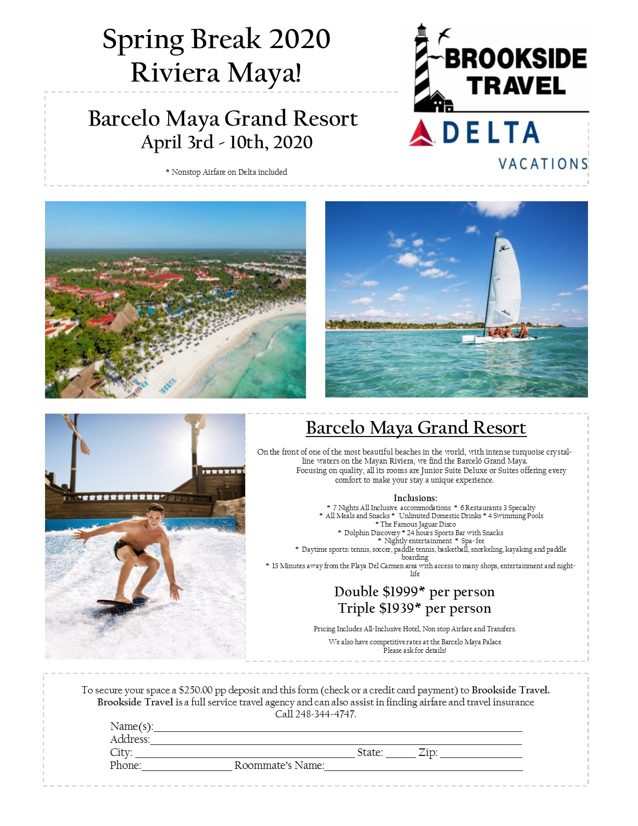 Barcelo Maya Grand Spring Break 2020